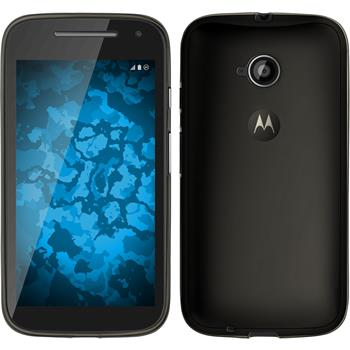 Silicone Case for Motorola Moto E 2015 2. Generation Slimcase gray