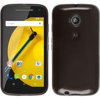 Silicone Case for Motorola Moto E 2015 2. Generation transparent black