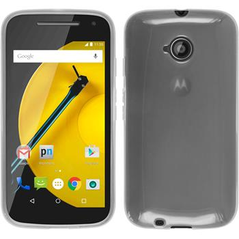 Silicone Case for Motorola Moto E 2015 2. Generation transparent white