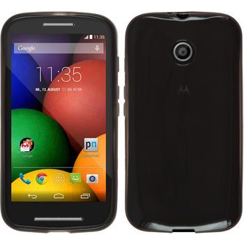 Silicone Case for Motorola Moto E transparent black