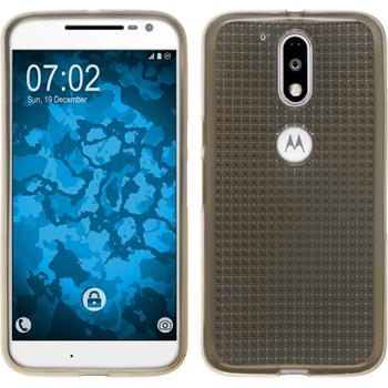 Silicone Case for Motorola Moto G4 Iced gray