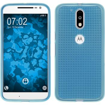Silicone Case for Motorola Moto G4 Iced light blue