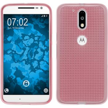 Silicone Case for Motorola Moto G4 Iced pink