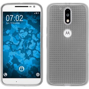 Silicone Case for Motorola Moto G4 Iced transparent