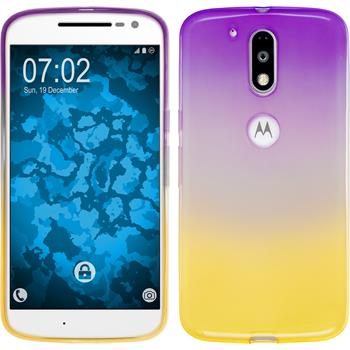 Silicone Case for Motorola Moto G4 Ombrè Design:05