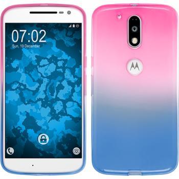 Silicone Case for Motorola Moto G4 Ombrè Design:06