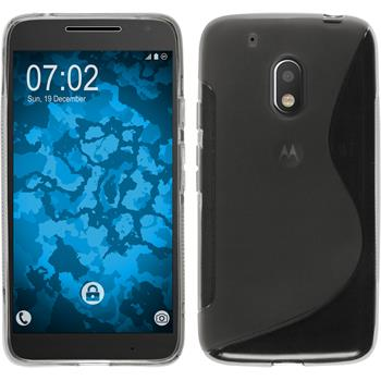 Silicone Case for Motorola Moto G4 Play S-Style gray