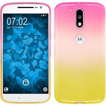 Silicone Case for Motorola Moto G4 Plus Ombrè Design:01