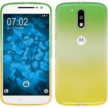 Silicone Case for Motorola Moto G4 Plus Ombrè Design:03
