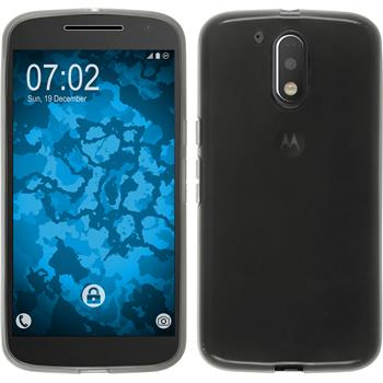 Silicone Case for Motorola Moto G4 transparent black