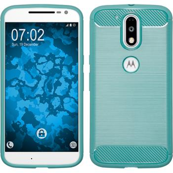 Silicone Case Moto G4 Ultimate turquoise