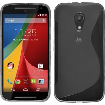 Silicone Case for Motorola Moto G 2014 2. Generation S-Style gray