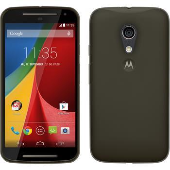 Silicone Case for Motorola Moto G 2014 2. Generation Slimcase gray