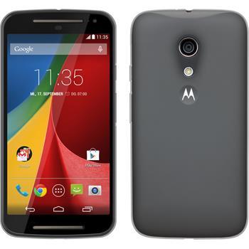 Silicone Case for Motorola Moto G 2014 2. Generation Slimcase transparent