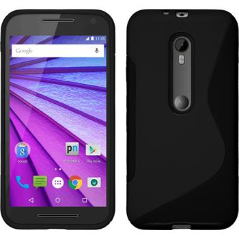 Silicone Case for Motorola Moto G 2015 3. Generation S-Style black