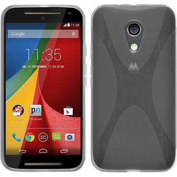 Silicone Case for Motorola Moto G 2014 2. Generation X-Style transparent