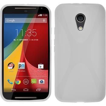 Silicone Case for Motorola Moto G 2014 2. Generation X-Style white