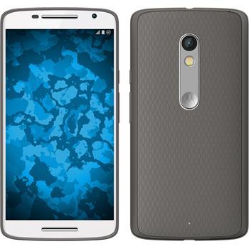 Silicone Case for Motorola Moto X Play Slimcase gray