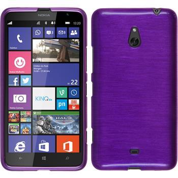 Silicone Case for Nokia Lumia 1320 brushed purple
