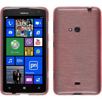 Silicone Case for Nokia Lumia 625 brushed pink