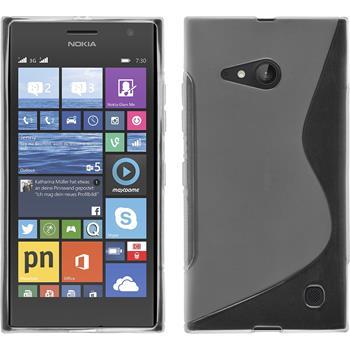 Silicone Case for Nokia Lumia 730 S-Style transparent