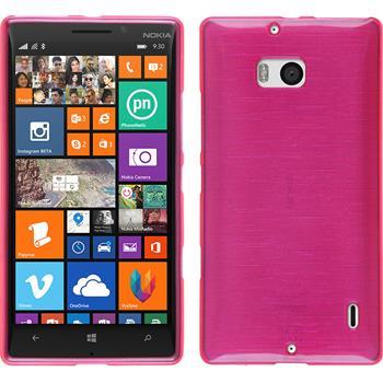 Silicone Case for Nokia Lumia 930 brushed hot pink