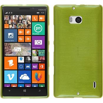 Silicone Case for Nokia Lumia 930 brushed pastel green