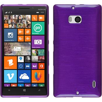 Silicone Case for Nokia Lumia 930 brushed purple