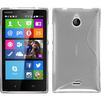 Silicone Case for Nokia X2 S-Style transparent