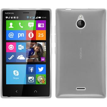 Silicone Case for Nokia X2 transparent white