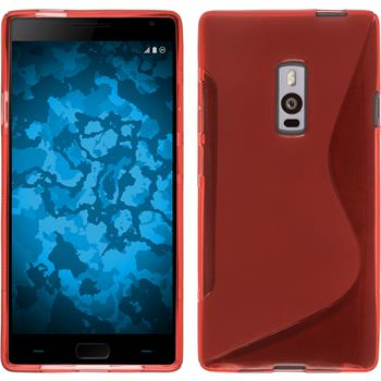 Silicone Case for OnePlus OnePlus 2 S-Style red