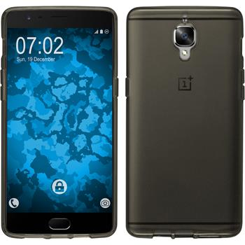 Silicone Case for OnePlus OnePlus 3 crystal-case gray