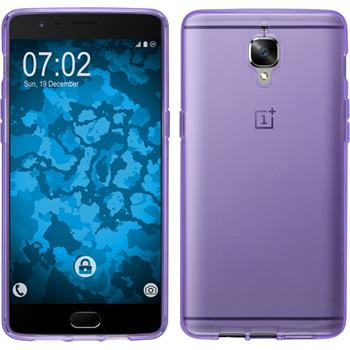 Silicone Case for OnePlus OnePlus 3 crystal-case purple
