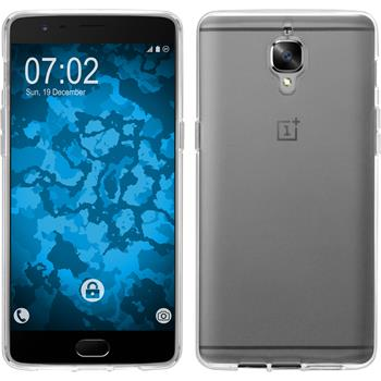 Silicone Case for OnePlus OnePlus 3 crystal-case transparent