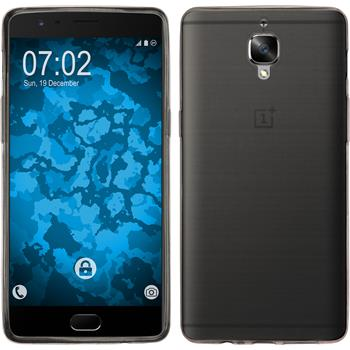 Silicone Case for OnePlus OnePlus 3 Slimcase gray