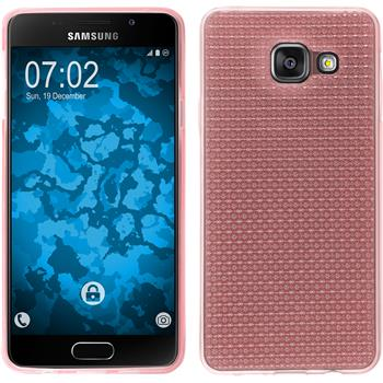 Silicone Case for Samsung Galaxy A3 (2016) A310 Iced pink