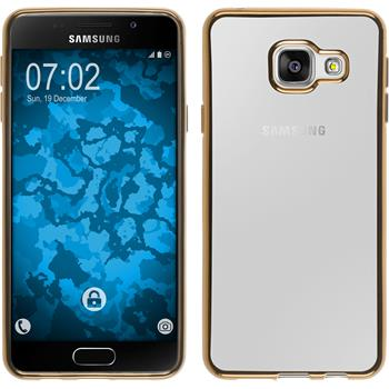 Silicone Case for Samsung Galaxy A3 (2016) A310 Slim Fit gold