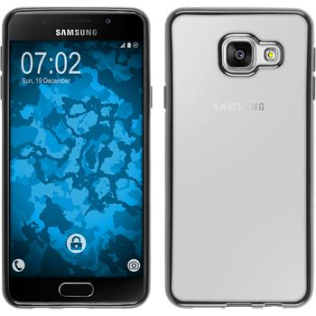 Silicone Case for Samsung Galaxy A3 (2016) A310 Slim Fit gray
