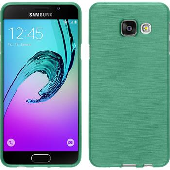 Silicone Case for Samsung Galaxy A3 (2016) brushed green