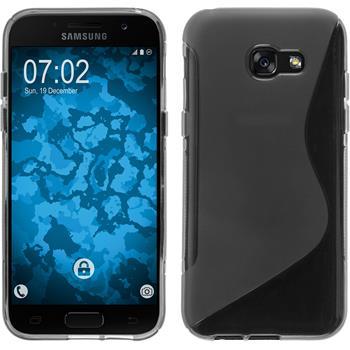 Silicone Case Galaxy A3 2017 S-Style gray