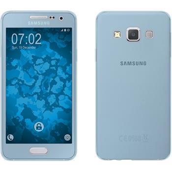 Silicone Case for Samsung Galaxy A3 (A300) 360° Fullbody light blue