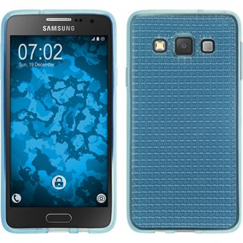 Silicone Case for Samsung Galaxy A3 (A300) Iced light blue