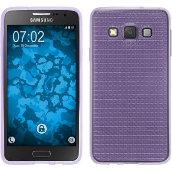 Silicone Case for Samsung Galaxy A3 (A300) Iced purple