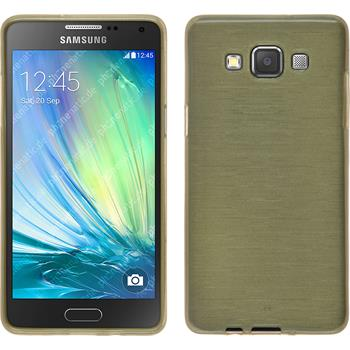 Silicone Case for Samsung Galaxy A3 brushed gold