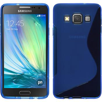 Silicone Case for Samsung Galaxy A3 S-Style blue