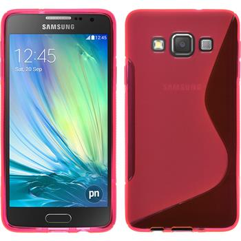 Silicone Case for Samsung Galaxy A3 S-Style hot pink