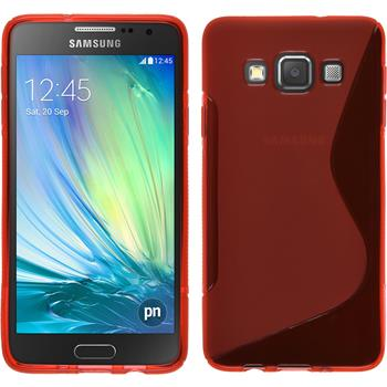 Silicone Case for Samsung Galaxy A3 S-Style red