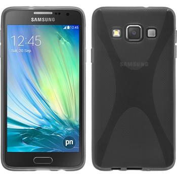 Silicone Case for Samsung Galaxy A3 X-Style gray