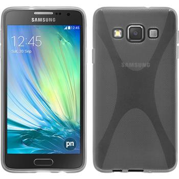 Silicone Case for Samsung Galaxy A3 X-Style transparent