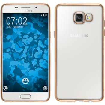 Silicone Case for Samsung Galaxy A5 (2016) A510 Slim Fit gold